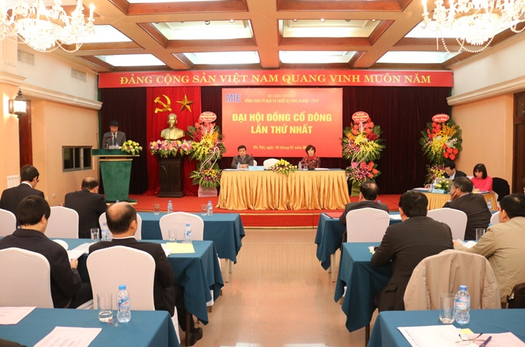 The 1st general meeting of shareholders of Machines and Industrial Equipment Corporation