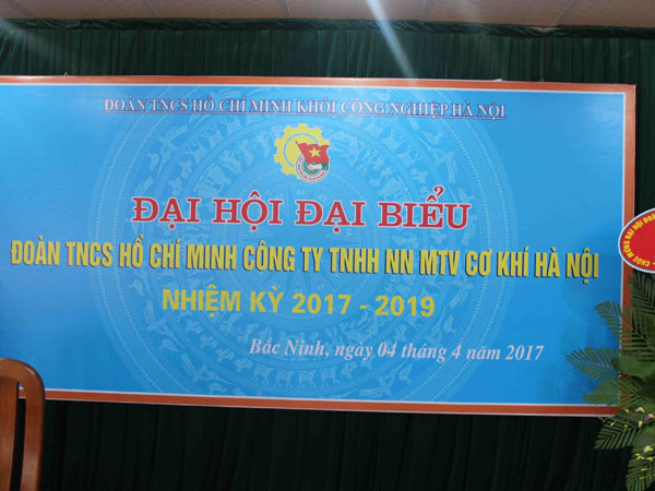Congress Of Youth Union Of Hanoi Mechanical Company For 2017 – 2019 Tenure